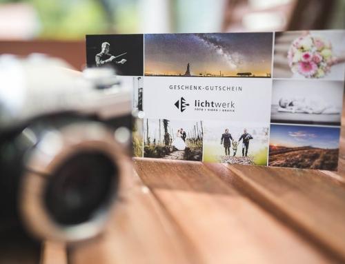 Geschenk-Gutscheine für Shootings und Workshops erhältlich!